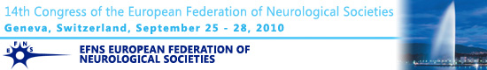 14th Congress of the European Federation of Neurological Societies