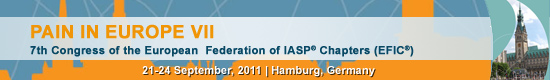 Pain in Europe VII - 7th Congress of the European Federation of IASP® Chapters (EFIC)