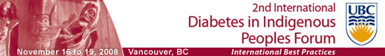2nd International Diabetes in Indigenous Peoples Forum: International Best Practices